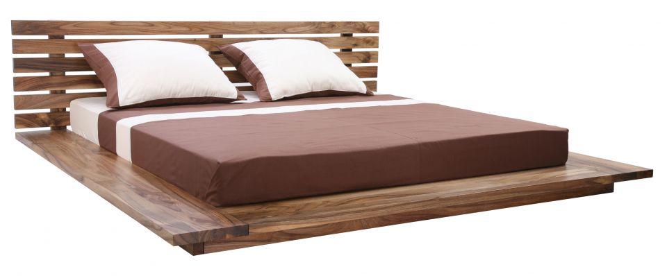 Simple łóżka Drewniane Do Sypialni Z Litego Drewna Na